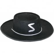 Klobouk Zorro dětský