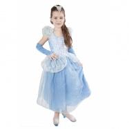 karnevalový kostým princezna Modrá hvězda, vel. L