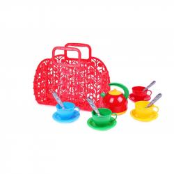 riadu plastové v plastovej RETRO taške, 3 farby