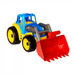 Traktor plastový sa lyžicou