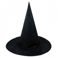 Klobouk černý čaroděj, hall, dospělý