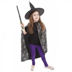 Karnevalový kostým plášť čarodejnícky / halloween