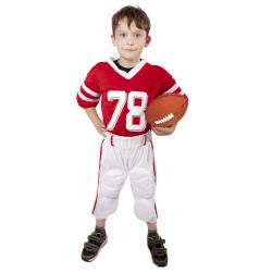 karnevalový kostým futbalový hráč detský, veľ. M