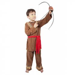 karnevalový kostým indián, dětský, vel. M