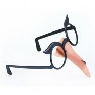 nos čarodějnický s brýlemi/hall