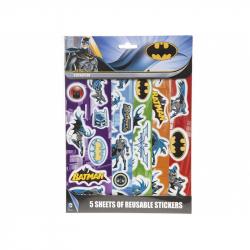 Samolepky Batman 5 listů/archů