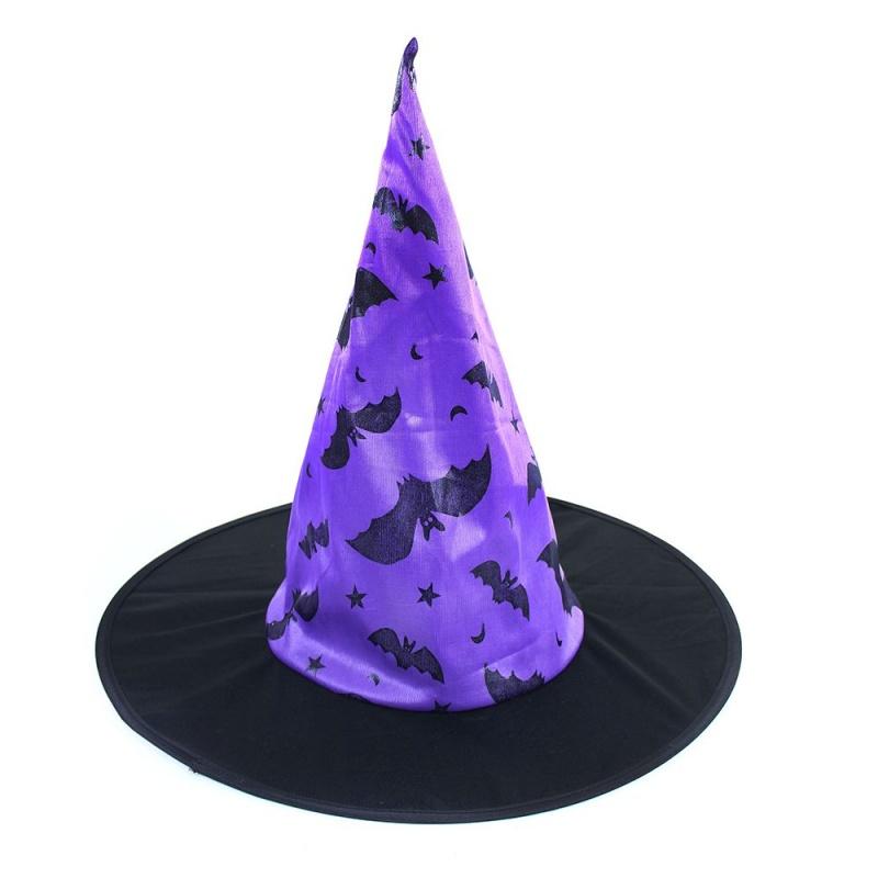 c4486726a klobúk čarodejnícky / halloween, netopier detský