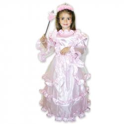 kostým princezna růžová, vel. M