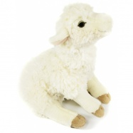 Plyšová ovečka 25 cm sedící