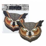 Maska papírová, sova