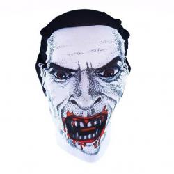 maska Halloween textilné, 4 druhy