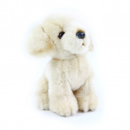 plyšový pes labrador 18 cm