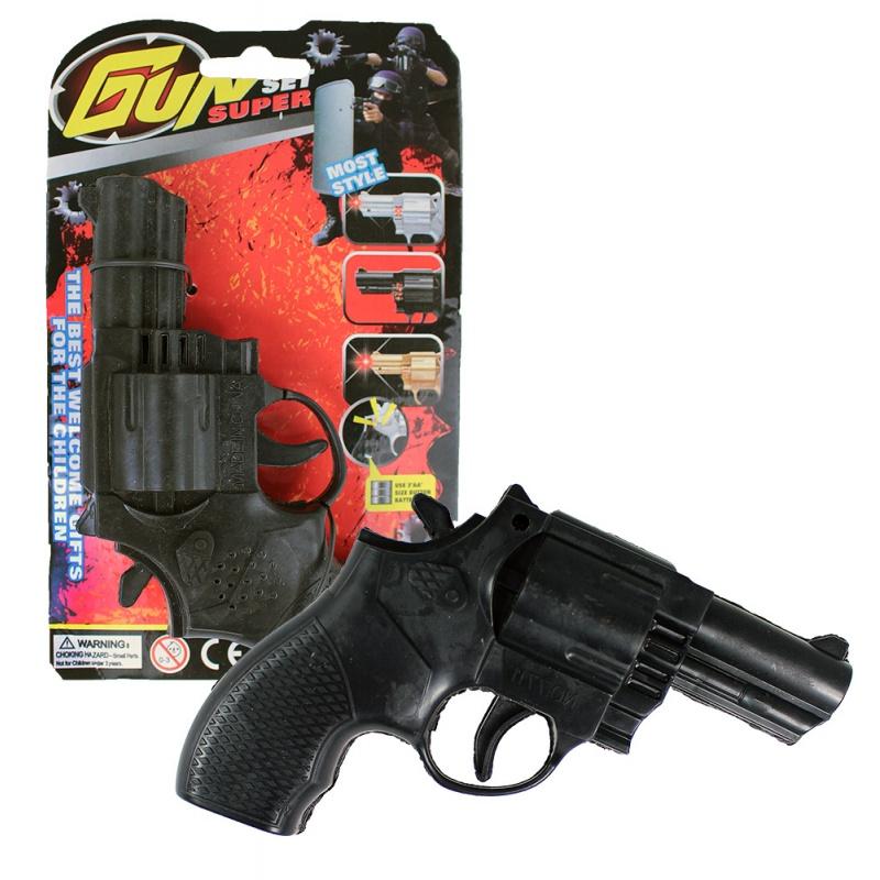 Pistole se zvukem a světlem