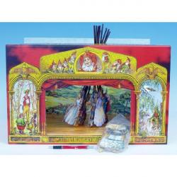 Divadlo Stilet rozprávkové bábkové papierové 11 ks postavičiek
