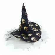 klobouk čarodějnický/halloween, dámský dospělý