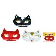 maska / škraboška kočka 3 barvy