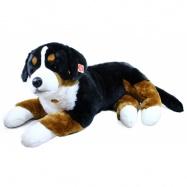 plyšový pes salašnický, ležící, 89 cm