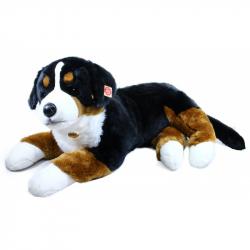 Rappa, Pluszowy Berneński pies pasterski, leżący, 89 cm
