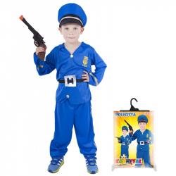Karnevalový kostým policista, vel. S
