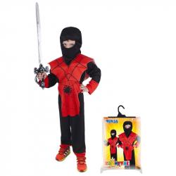 Karnevalový kostým NINJA pavúk, veľ. M