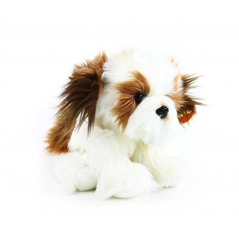 plyšový pes shih tzu 28 cm sedící