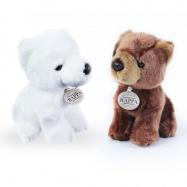 plyšový medvěd 2 druhy 18 cm