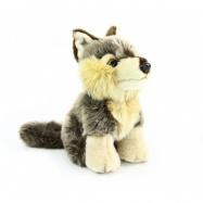 Pluszowy wilk, siedzący, 18 cm
