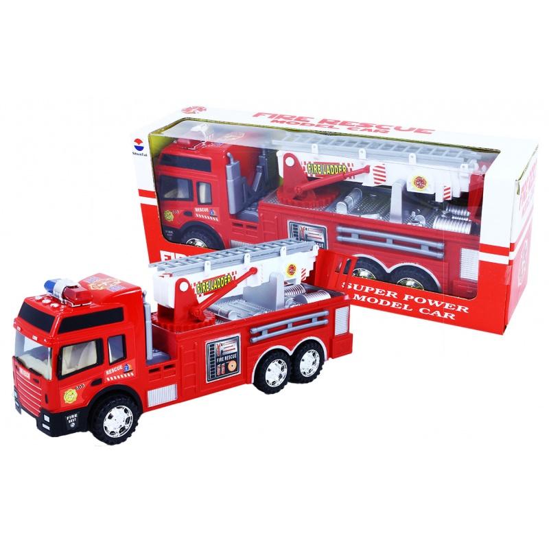 auto hasiči na setrvačník