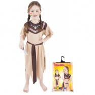karnevalový kostým indiánka, vel. M