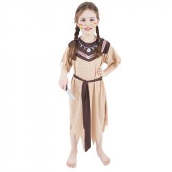 karnevalový kostým indiánka, veľ. M