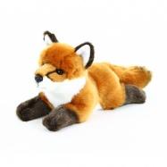 Rappa, Pluszowy lis, leżący, 23 cm