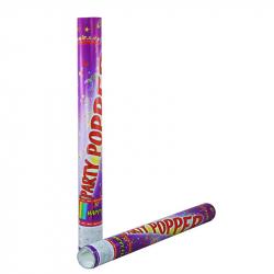 Konfety vystreľovacie v tube, 50 cm