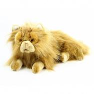 plyšová kočka perská ležící, 30 cm