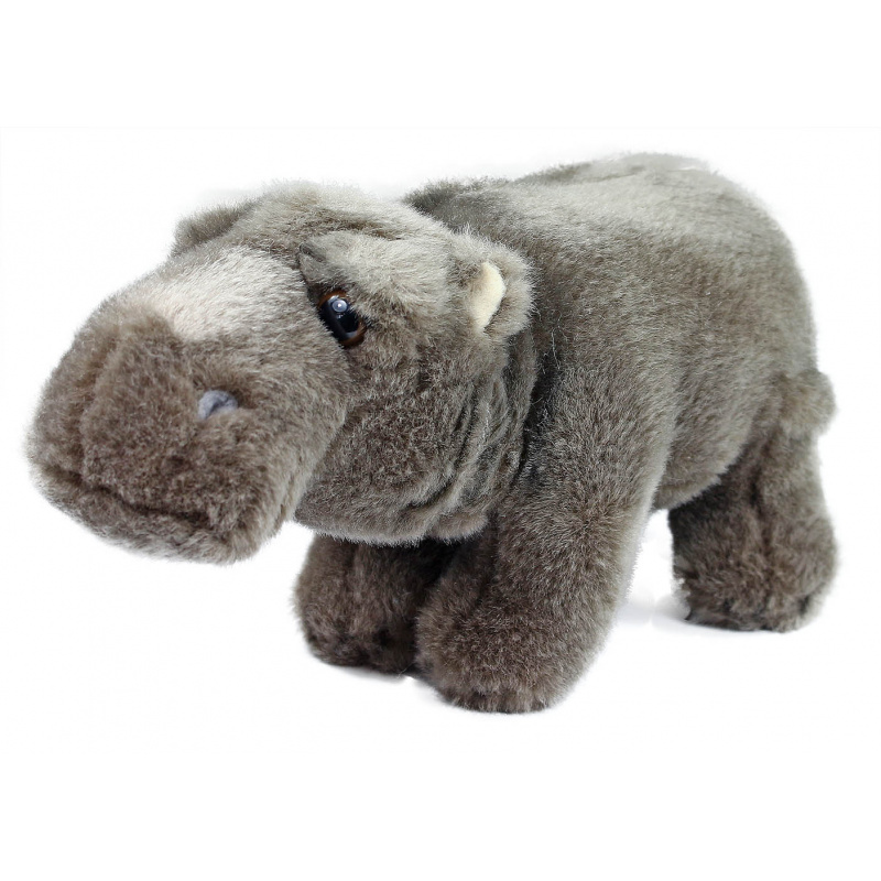 Pluszowy hipopotam, 22 cm