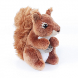 Pluszowa wiewiórka, 18 cm