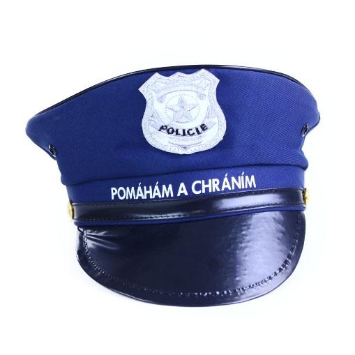 6e9566184 čiapky policajné, detská