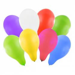 balónik nafukovacie 27 cm 8 ks v sáčku