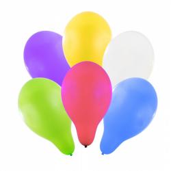 balónik nafukovacie 30 cm 6 ks v sáčku
