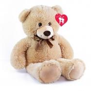 Medvěd plyšový valentýnský 80 cm s visačkou
