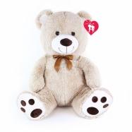 Medveď plyšový valentínsky 65 cm s visačkou