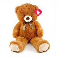 Medvěd plyšový valentýnský 90 cm s visačkou