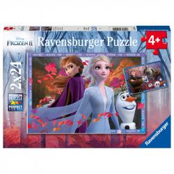Disney Ľadové kráľovstvo 2 2x24 dielikov