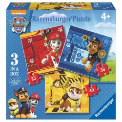 Ravensburger - Psi Patrol 3w1 Puzzle 25-36-49 elem.
