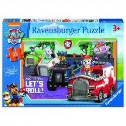 Ravensburger - Puzzle Psi Patrol 35 elem.