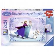 Ravensburger Disney Ľadové kráľovstvo 2x24 dielikov