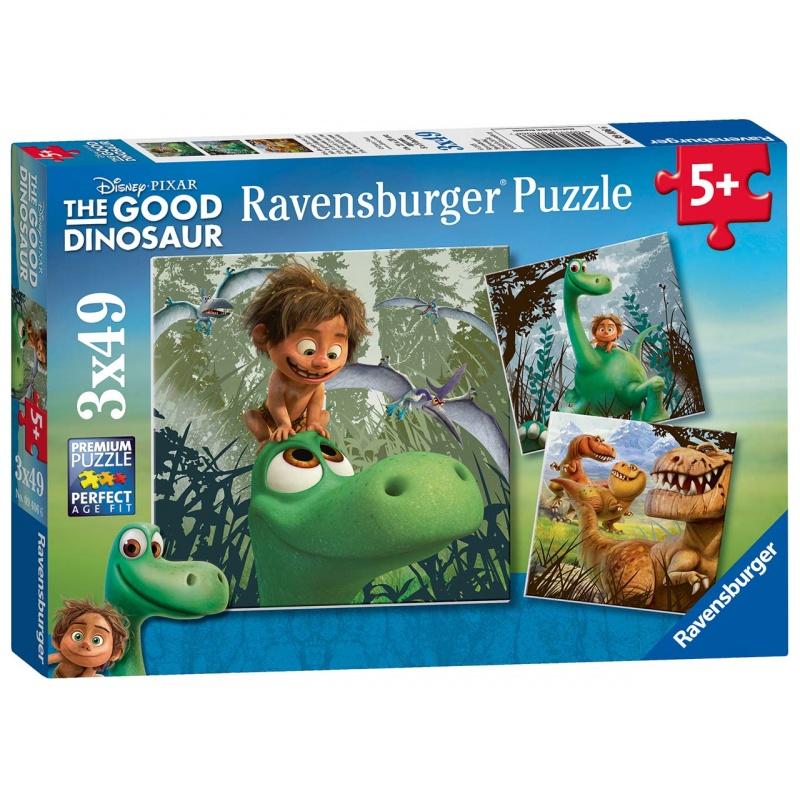 Disney Hodný Dinosaurus 3x49 dílků
