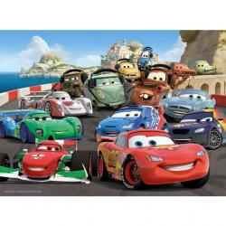 Cars 2 100 dílků XXL