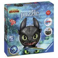 Puzzle-Ball Jak vycvičit draka 3: Bezzubka 72 dílků