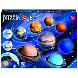 Planetárna sústava; 960 dielikov 3D