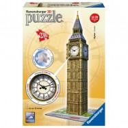 Big Ben s hodinami 216 dílků